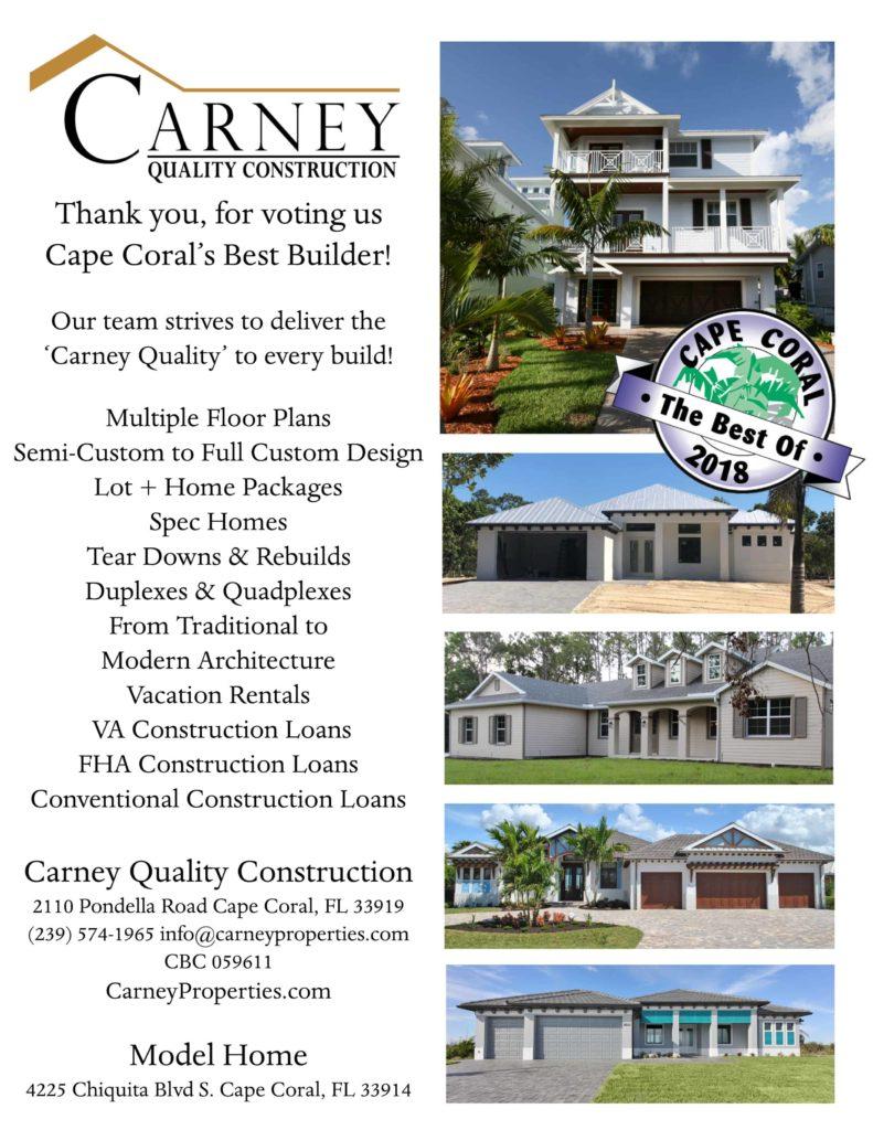 2018 Best Builder Of Cape C