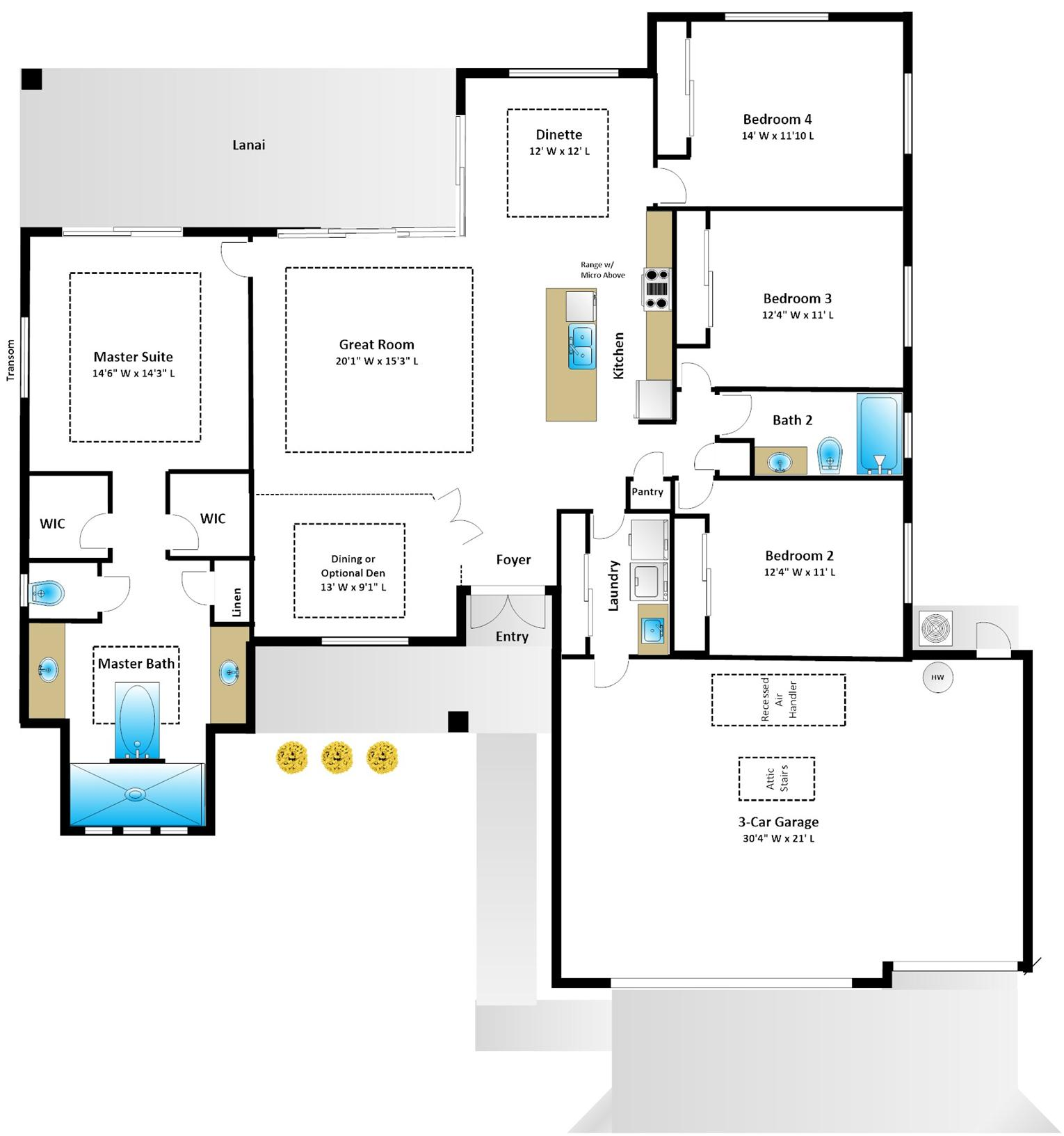 Jacaranda-4-Bed-Floor-Plan